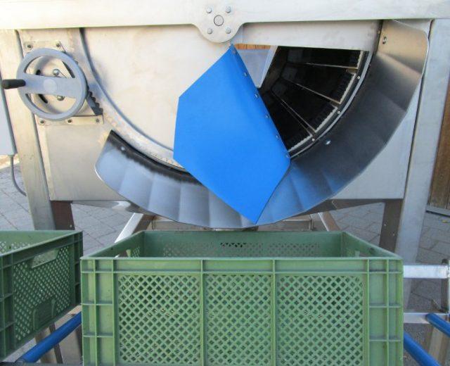 Trommelwaschmaschine mit Bürsten