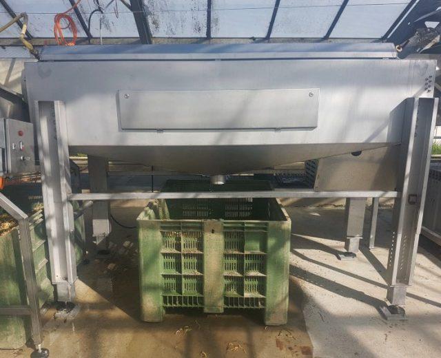 Bürstenwaschmaschine für Gemüse
