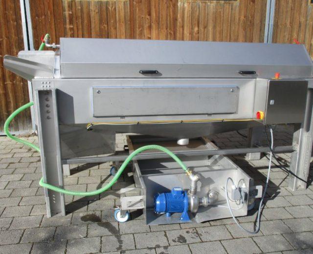 Bürstenwaschmaschine für Gemüse der Firma B.Miller Maschinenbau GmbH
