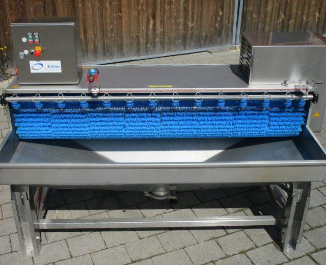 Kürbiswaschmaschine