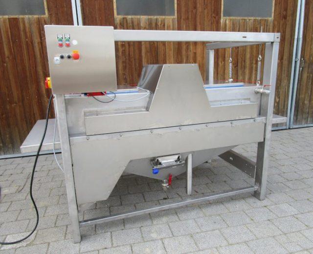 Rettichwaschmaschine