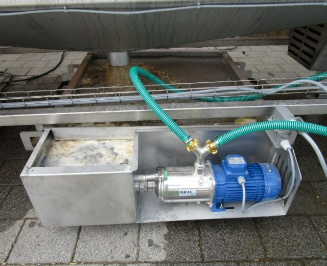 Wasseraufbereitung für Gemüsewaschmaschinen